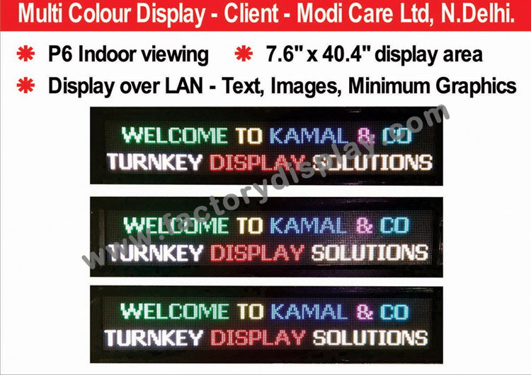 Kamal&Co - Leading Manufacturers and suppliers of Display Boards, G